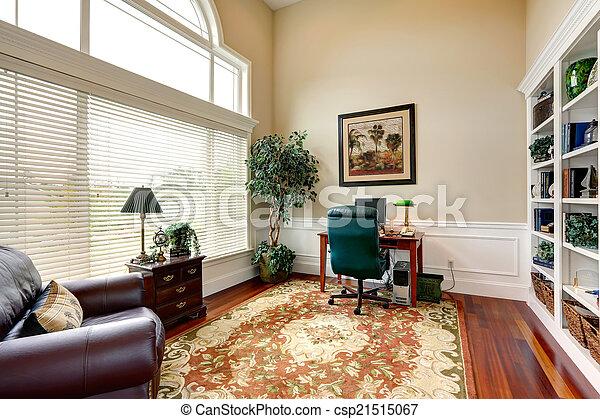 Plafond salle bureau maison élevé luxe intérieur plafond