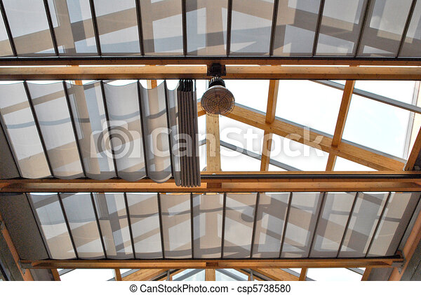Plafond Verre Toit Plafond Maison Moderne AntiSun