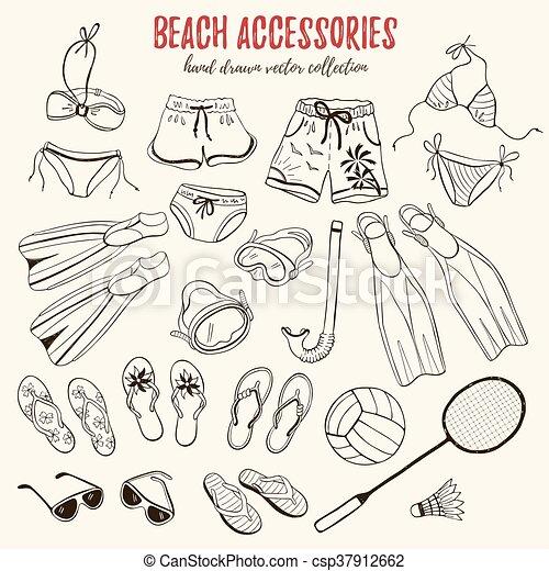 Plage, Accessoires, Collection