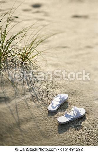 plage., sandales - csp1494292