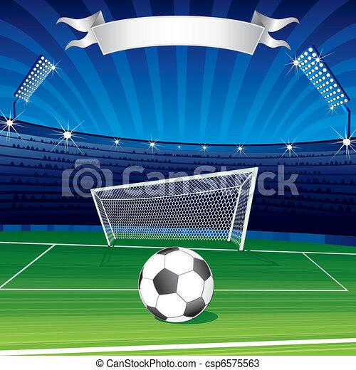 Liga Plakat Fussball Oder Vektor Design Meister Text