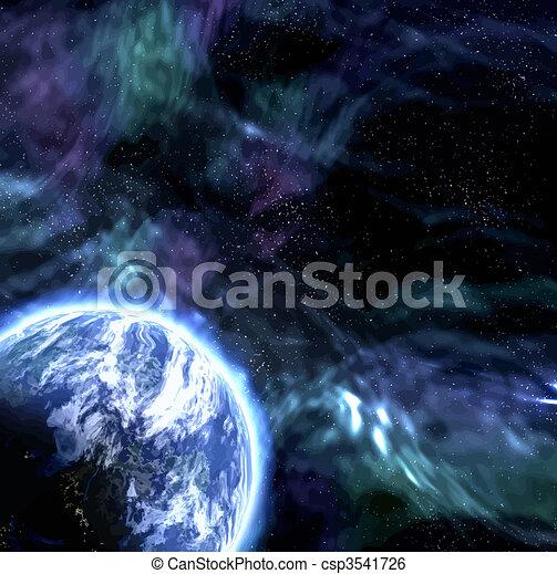 planète, espace - csp3541726