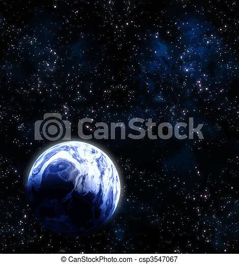 planète, espace - csp3547067