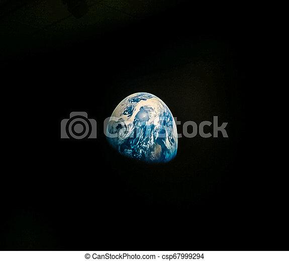 planète, vu, la terre, espace - csp67999294