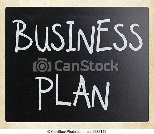 plan, affär - csp9238148