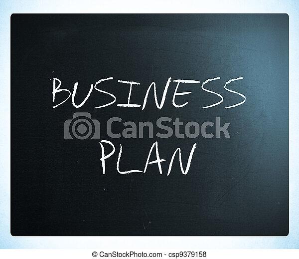 plan, affär - csp9379158