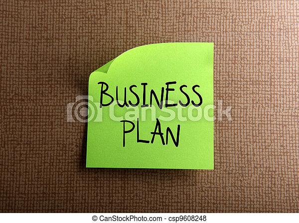 plan, affär - csp9608248