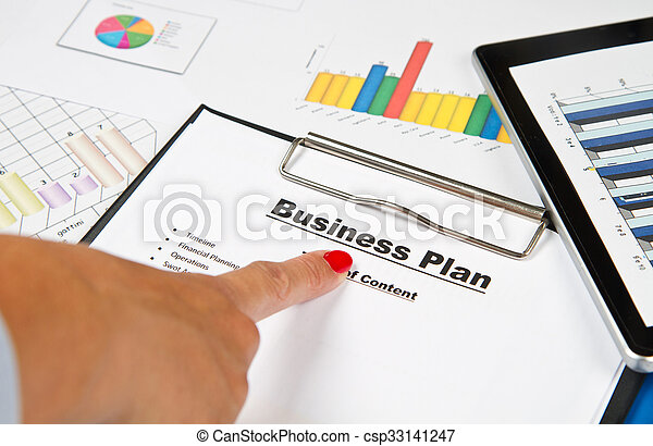 plan, affär - csp33141247