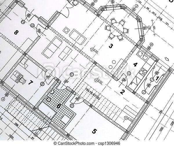 plan, architectural - csp1306946