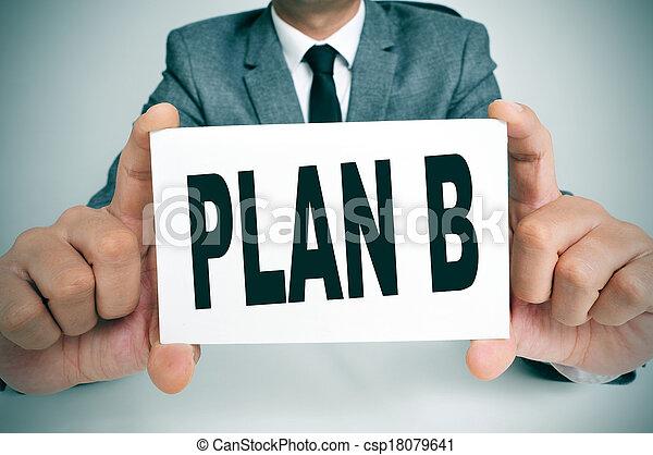 plan B - csp18079641