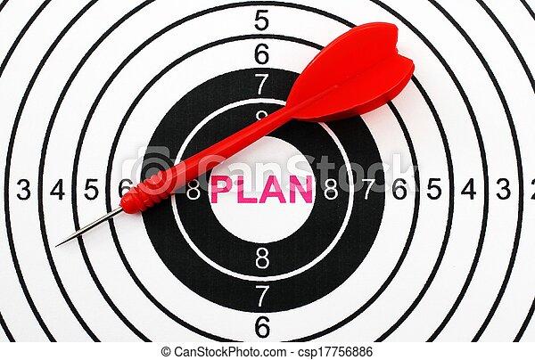 plan, cible - csp17756886