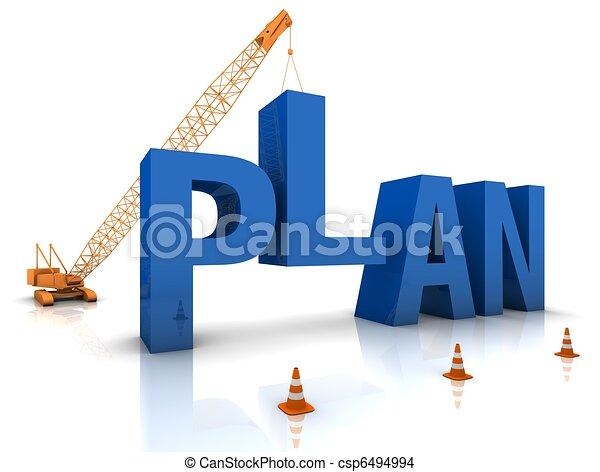 plan, développer - csp6494994