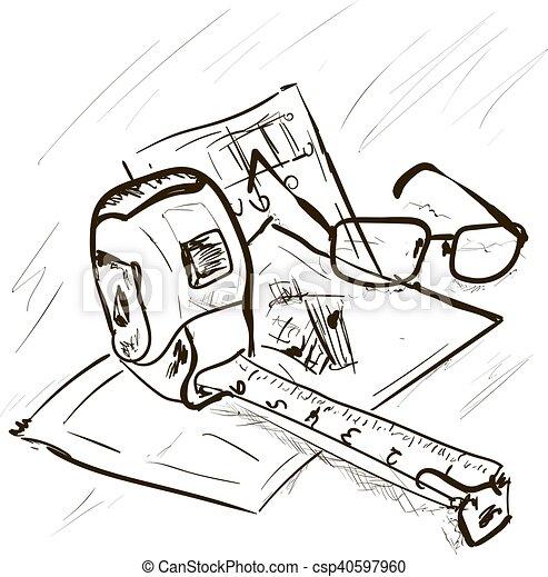 Plan de construcción - csp40597960