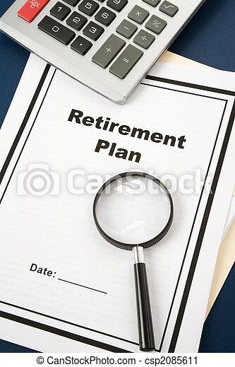 Plan de jubilación - csp2085611