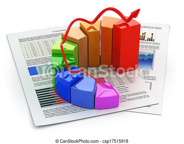 plan., graphique, concept., business - csp17515918