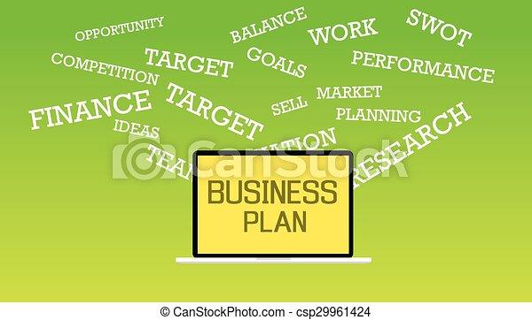plan, handlowy - csp29961424