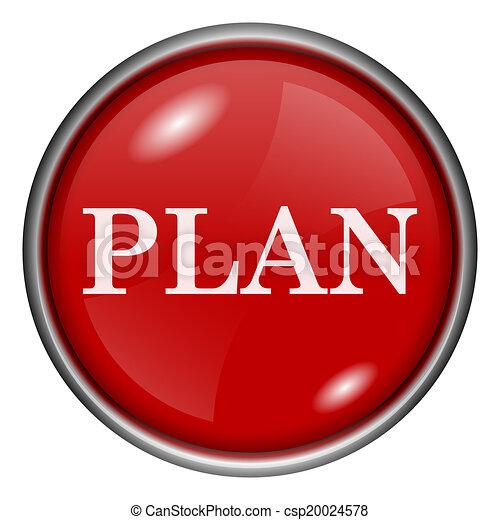 plan, icono - csp20024578