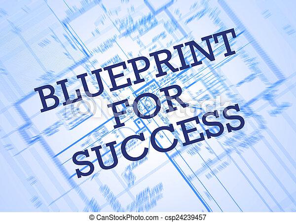 plan, powodzenie - csp24239457