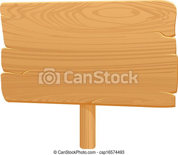 planche, bois, icône, backgrou, blanc - csp16574493