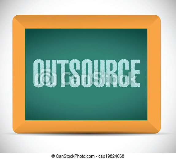 planche, outsource, message - csp19824068