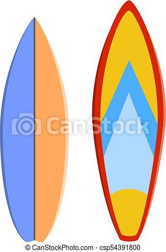 Planche Surf Couleur Set Pattern Illustration Vecteur Mer Sport Extreme Planche Surf Couleur Set Pattern Eps Canstock