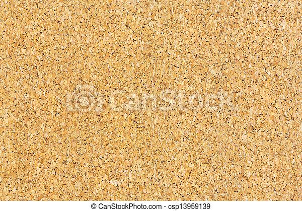planche, texture, bouchon - csp13959139
