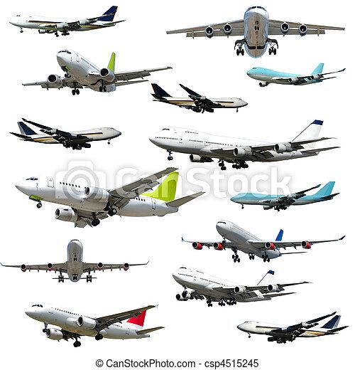 Plane collection. High resolution - csp4515245
