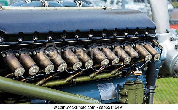 Plane Engine Plugs - csp55115491