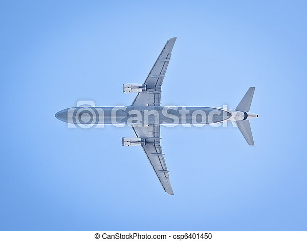 plane in the sky - csp6401450