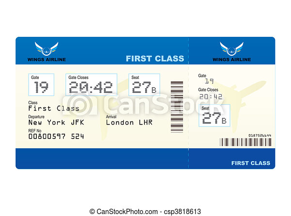 plane ticket - csp3818613