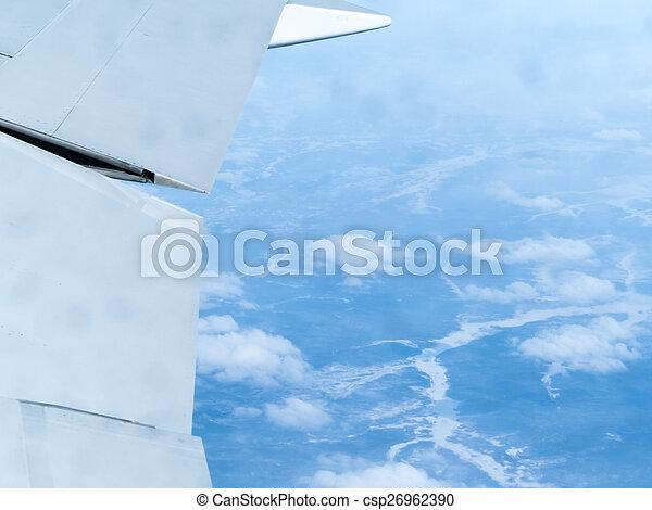 Plane wing - csp26962390