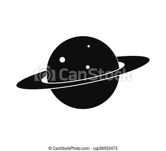 planeet, pictogram - csp56552473