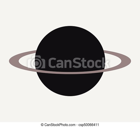 planeet, pictogram - csp50066411