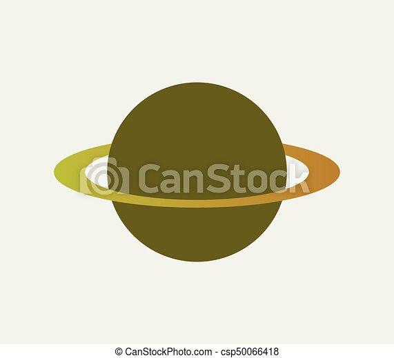 planeet, pictogram - csp50066418
