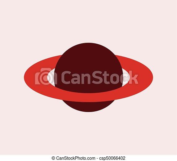 planeet, pictogram - csp50066402