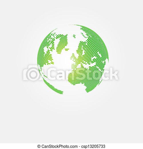 planeet, sparen, abstract concept, ontwerp - csp13205733