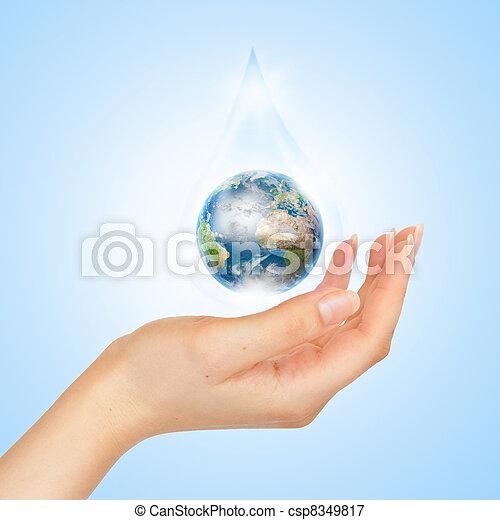 planeet, symbool, sparen - csp8349817