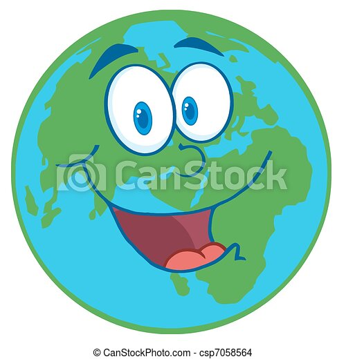 planet earth cartoon character happy earht cartoon mascot character