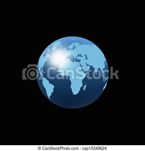 Planet earth a creative world map abstract background file clip art planet earth csp15349624 gumiabroncs Image collections