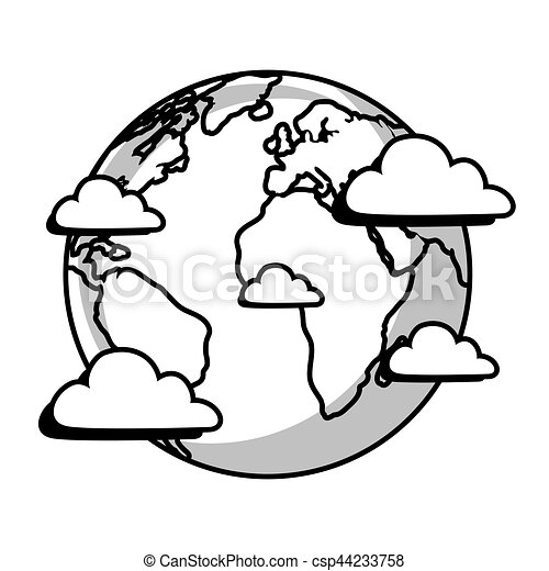 planet earth of the solar system vector illustration design clipart rh canstockphoto com solar system clipart not colored page solar system clipart png