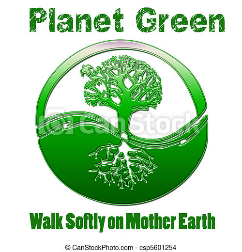 Planet Green Mother Earth