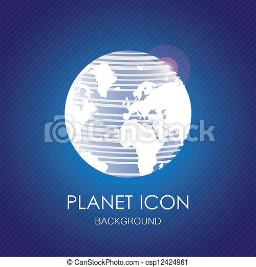 Planet icons - csp12424961