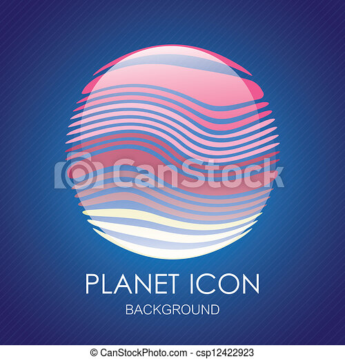 Planet icons - csp12422923