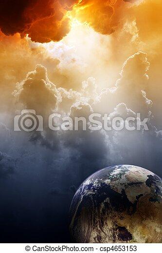 Planet in danger - csp4653153