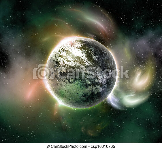 Planet in the space - csp16010765