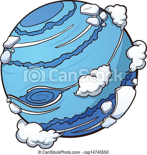 Planet Neptune - csp14745550