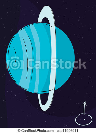 uranus planet drawings - photo #8