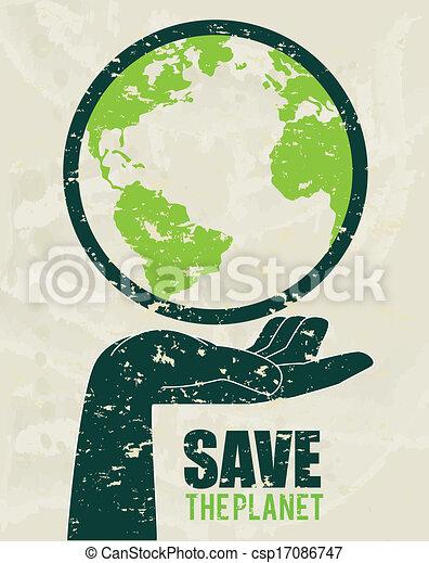 Salva el planeta - csp17086747