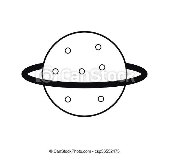 planeta, icono - csp56552475