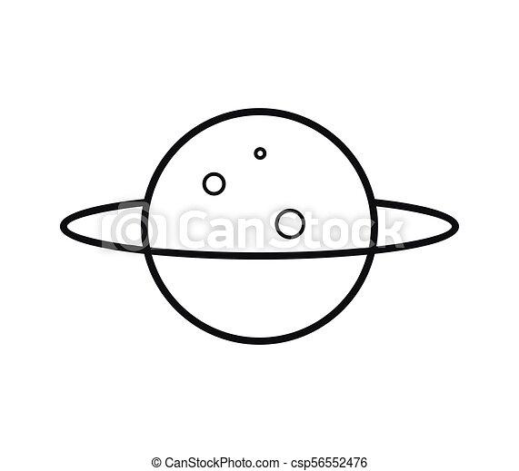 planeta, icono - csp56552476
